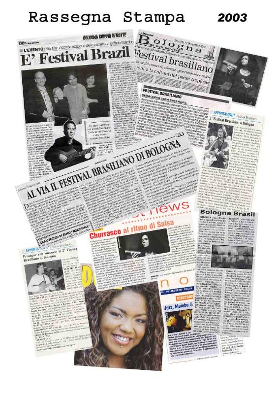 Rassegna stampa 2003 Brasil Festival