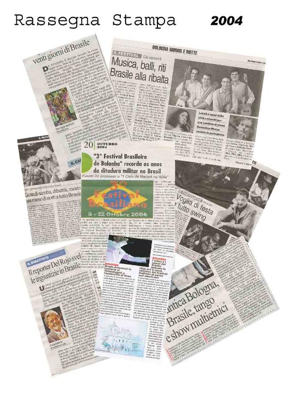 Rassegna stampa 2004 Brasil Festival