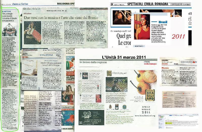 Rassegna stampa 2011 Brasil Festival